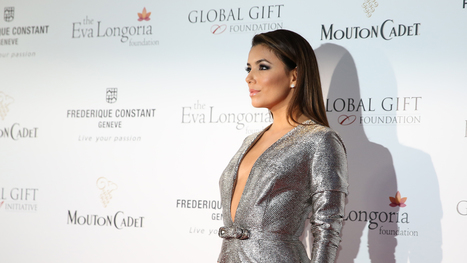Eva Longoria Uncorks Mouton Cadet for a Cause at #Cannes2015 | Vitabella Wine Daily Gossip | Scoop.it