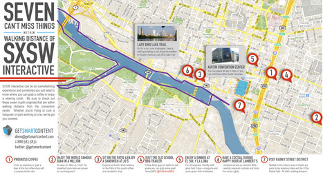 SXSW-map.jpg (1340x739 pixels) | SXSW News | Scoop.it