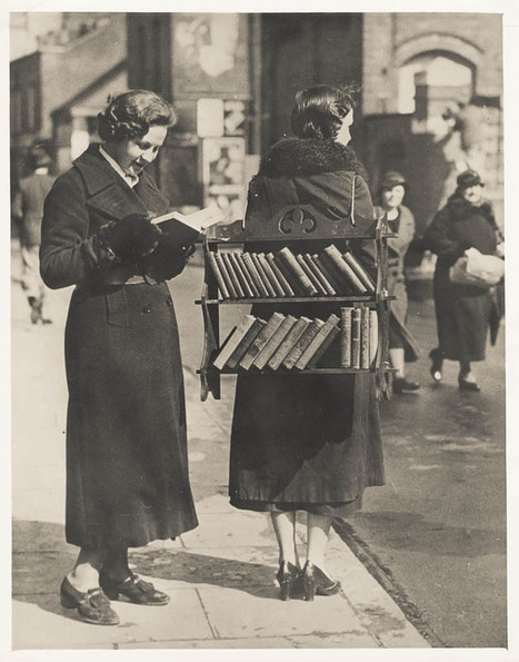 The (Vintage) Walking Library | books in the news | Scoop.it
