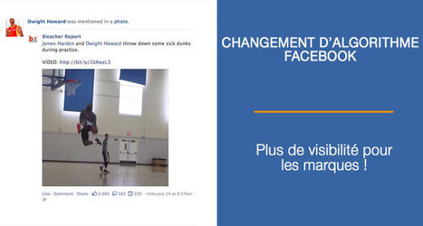 Changement d'Algorithme Facebook : Plus de Portée pour les Marques | Facebook Marketing | Scoop.it