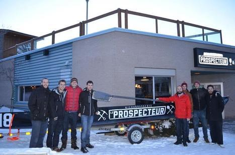 Si vous ne venez pas en Abitibi-Témiscamingue, elle viendra à vous… en canot! | Blogue Tourisme Abitibi-Témiscamingue | Le canot à glace - Ice canoeing | Scoop.it