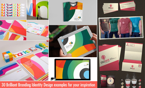 30 Brilliant Branding Identity Design examples for your inspiration | Brand | Scoop.it