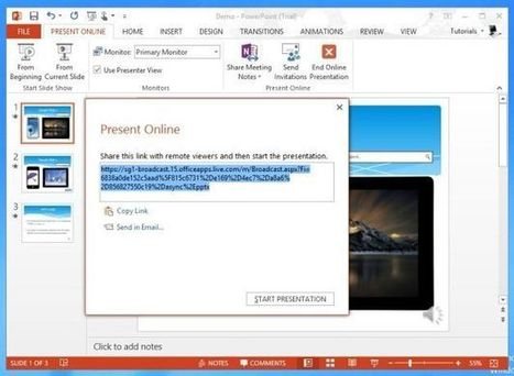 Present Live PowerPoint Presentations Online With Office Presentation Service | Business & Productivity Tools | Scoop.it