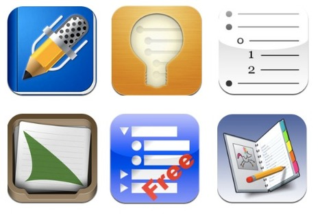 Apps in Education: 6 Apps for Creating Outlines on the iPad: | School Library Advocacy | Scoop.it