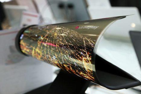 LG pourrait concevoir une tablette avec un écran pliable et transparent | web2Partner | Scoop.it