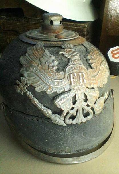 WWI German Helmet | Antiques & Vintage Collectibles | Scoop.it