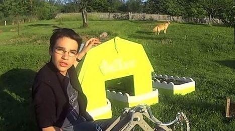 Un Lorrain de 14 ans récompensé par Google pour son robot-jardinier - L'Express | Cyber ferme | Scoop.it