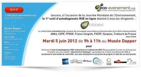 Développement durable et organisation d'événement - Eco-événement | Ingénierie de projet événementiel | Scoop.it