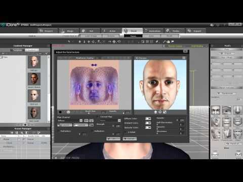 iClone5 Tutorial – 2D Photo to 3D Head « Safegaard – Movie Theater