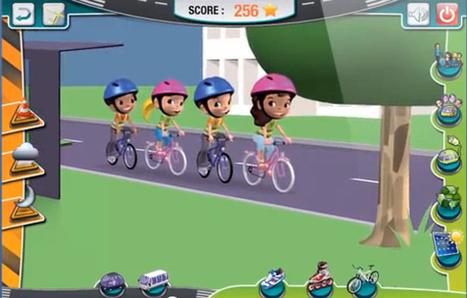 Sécurité routière - Jeu | FLE enfants | Scoop.it