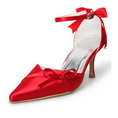 $ 84.19 Red  Upper High Heel Closed-toes Special Occasion Shoes | SEXY | Scoop.it