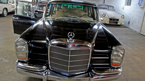 Saddam Hussein's Mercedes-Benz 600 Landaulet Is Amazing And Spooky | Classic Mercedes | Scoop.it
