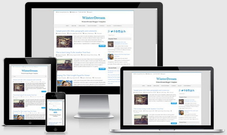 WinterDream Blogger Template | Blogger themes | Scoop.it