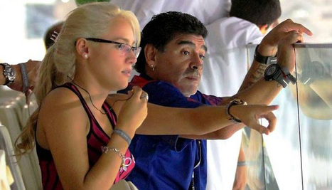 Maradona pede à Interpol para prender a ex-namorada | Bola e craques | Scoop.it