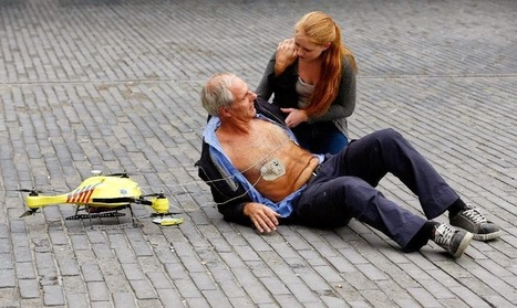 'Ambulance Drone' Prototype Unveiled in the Netherlands | Technology in Business Today | Scoop.it