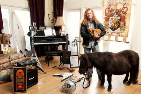 Megadeth's Mustaine Owns Megacute Minihorse | My Heavy Metal Blog | Scoop.it