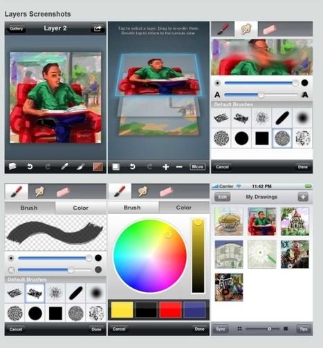 Art Apps Showcase   iPad and iPhone Art Apps   ART CULTURE   21st Century Art Education   Scoop.it