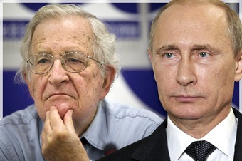 Strange bedfellows: Putin, the Chomskyite left and the ghosts of the Cold War - Salon | real utopias | Scoop.it