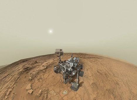 NASA's mars curiosity rover self-portrait panorama | Politically Incorrect | Scoop.it