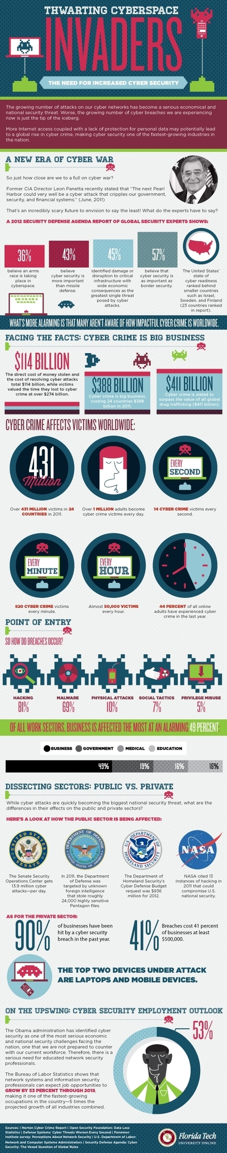 Infographic: Thwarting cyberspace invaders | Personal Branding and Professional networks - @TOOLS_BOX_INC @TOOLS_BOX_EUR @TOOLS_BOX_DEV @TOOLS_BOX_FR @TOOLS_BOX_FR @P_TREBAUL @Best_OfTweets | Scoop.it