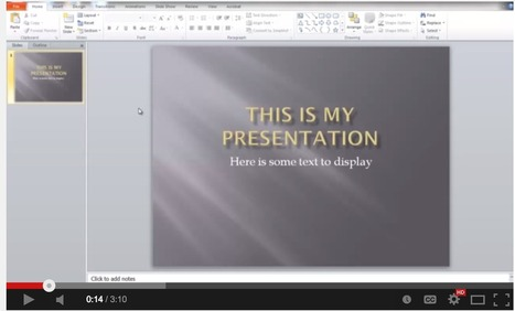 This is How to Add Audio Narration to Your PowerPoint Presentations | Educational Technology - Yeshiva Edition | Scoop.it