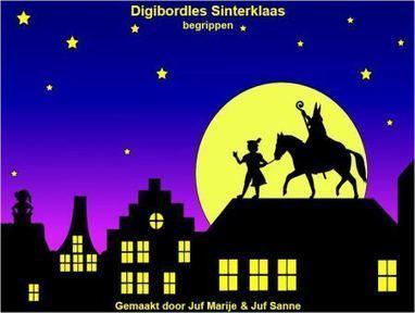Digibordles Sinterklaas begrippen | sint | Scoop.it