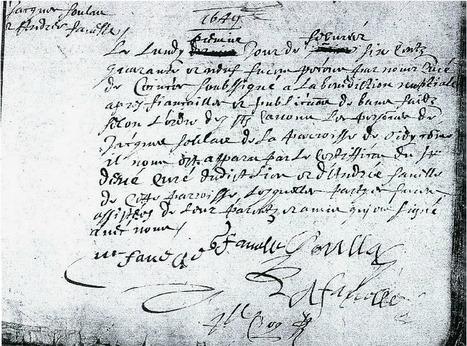 Dans les branches: 52 Ancestors : #17 Jacques Soulas, le plus lointain ancêtre de la branche Soulas | GenealoNet | Scoop.it
