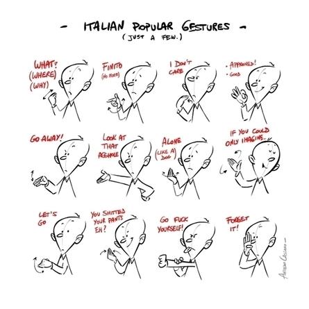 Italian gestures | Italy - Appassionata Style | Scoop.it