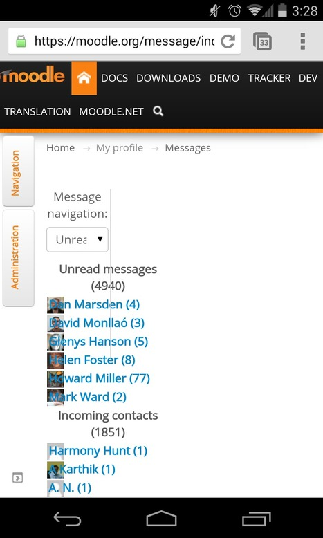 Interested in a Bootstrap Theme and Docked Blocks? Moodle.org has it | mOOdle_ation[s] | Scoop.it