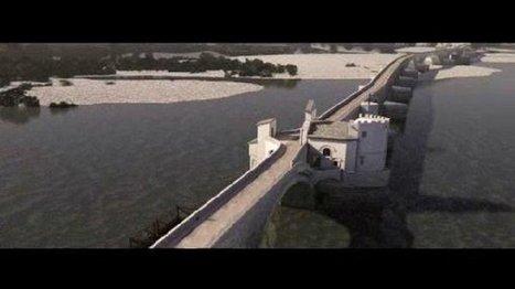 Le Pont d'Avignon restitué en 3D – patrimoine - France 3 Provence-Alpes | Avignon | Scoop.it