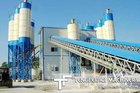 Use HZS Concrete Batching Plant | Mobile Concrete Mixing Plant | Scoop.it