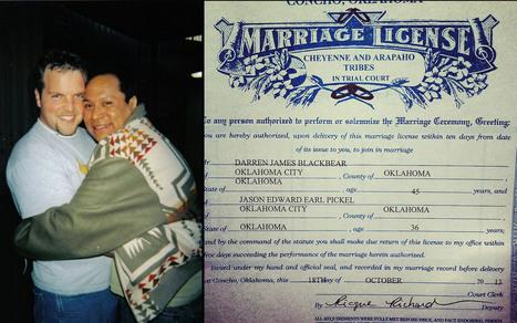 Native American tribes challenge Oklahoma gay marriage ban - Al Jazeera America | LGBT Times | Scoop.it