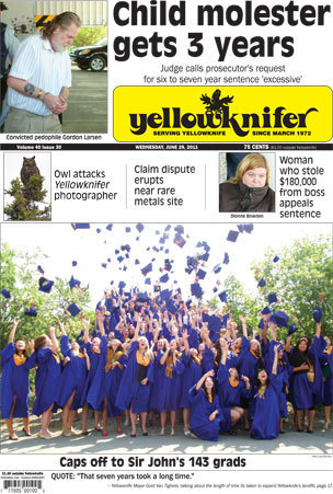 Headlines for Yellowknifer for June 29th 2011 #YZF #NWT | NWT News | Scoop.it