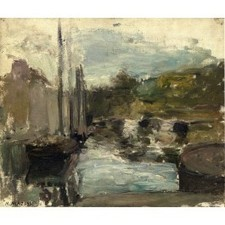 Oil painting on canvas Henri Matisse Brittany also known as boat | Oil paintings | Scoop.it