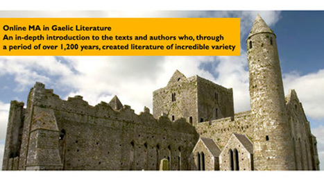 Online MA in Gaelic Literature available from University College Cork | The Irish Literary Times | Scoop.it