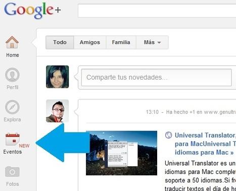 Cómo crear y configurar un #Evento en #GooglePlus | Social Media e Innovación Tecnológica | Scoop.it