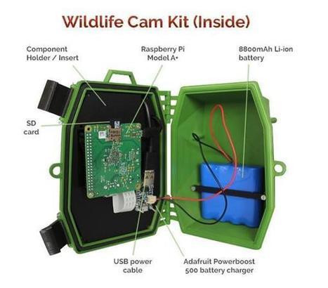 Naturebytes launches 3D printable Raspberry Pi Wildlife Camera trap Kit to ... - 3ders.org (blog) | Raspberry Pi | Scoop.it