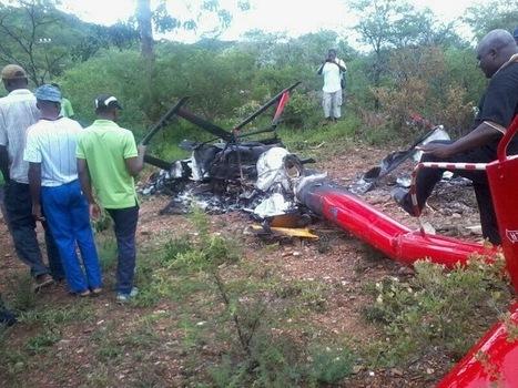 HELICOPTER CRASHES IN GWANDA, ONE DEAD   ZimbabweNewsDay   Zimbabwe   Scoop.it