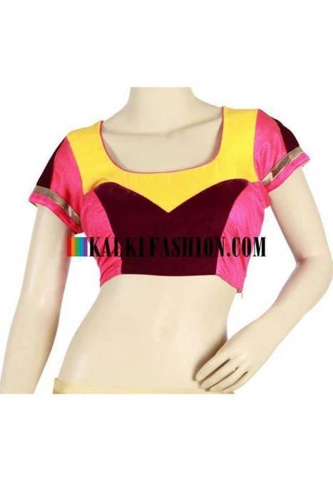 Kalki Fashion Smart Style Blouses 2014 for Women | www.StyloStyle.com | Stylestylo | Scoop.it