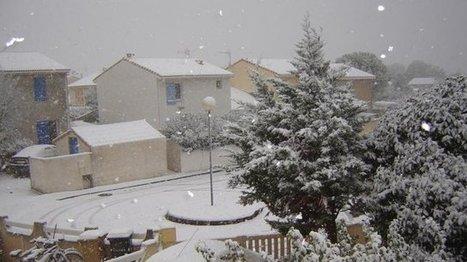 La neige s'invite en Provence | The Blog's Revue by OlivierSC | Scoop.it