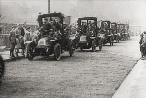 En taxi al combate en la Primera Guerra Mundial ~ Curistoria | Primera Guerra Mundial-Cristian Maroñas. | Scoop.it