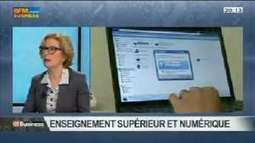"Vidéo : ""Le numérique dans l'enseignement supérieur: Geneviève Fioraso (part2)"" 