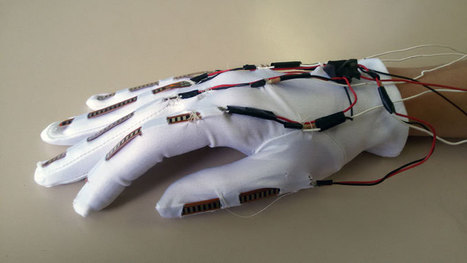 A low-cost robotic hand (tutorial) mirroring your own fingers | Big and Open Data, FabLab, Internet of things | Scoop.it