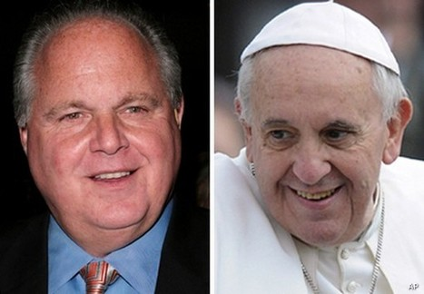 Rush: Pope Francis' Words Are 'Pure Marxism' | Restore America | Scoop.it