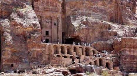 Jordanie: Un site religieux découvert sous le sable de la cité antique de Petra | Histoire et Archéologie | Scoop.it