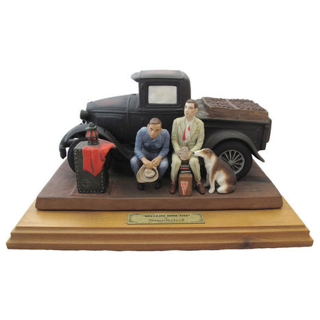 BREAKING HOME TIES NORMAN ROCKWELL FIGURINE NUMBERED SIGNED BY ARTISAN | Ebay,Etsy,Amazon | Scoop.it