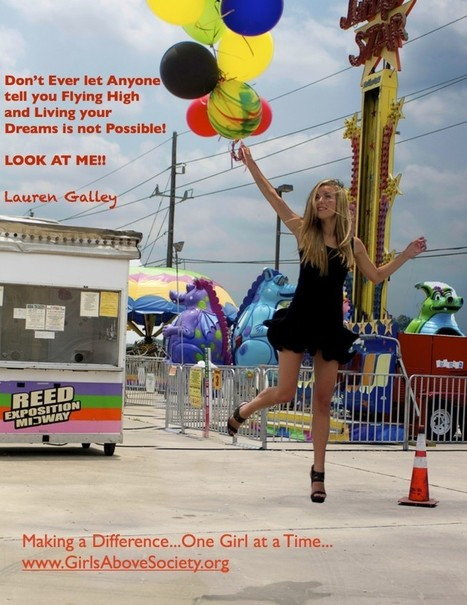 Fly High and Live your Dreams!! - Girls Above Society | Women and Girls in the World | Scoop.it