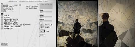 TRIANGULATION, geometric patterns by Joanie Lemercier   Digital #MediaArt(s) Numérique(s)   Scoop.it