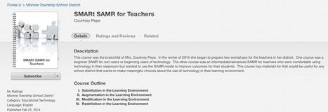 SMARt SAMR in iTunesU | Ed Tech | Scoop.it