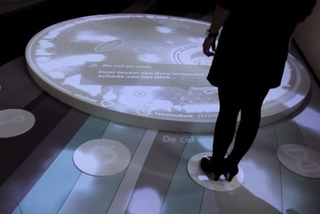 Kinect Installation Lets Visitors Control A Living Human Cell [Video] - PSFK | Cabinet de curiosités numériques | Scoop.it